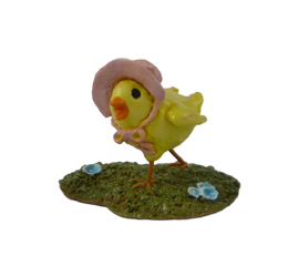 A-01 Little Chick with Bonnet