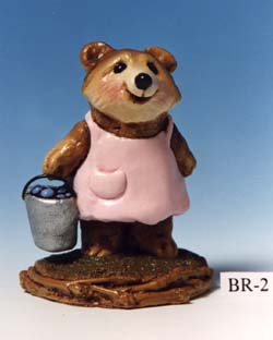 BR-02 Girl Blueberry Bear