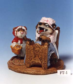 FT-01 Little Red Riding Hood Mouse & Wolf