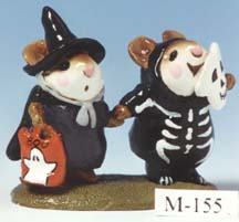 M-155 Littlest Witch & Skeleton