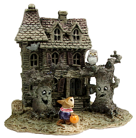 M-165a Haunted Mouse House