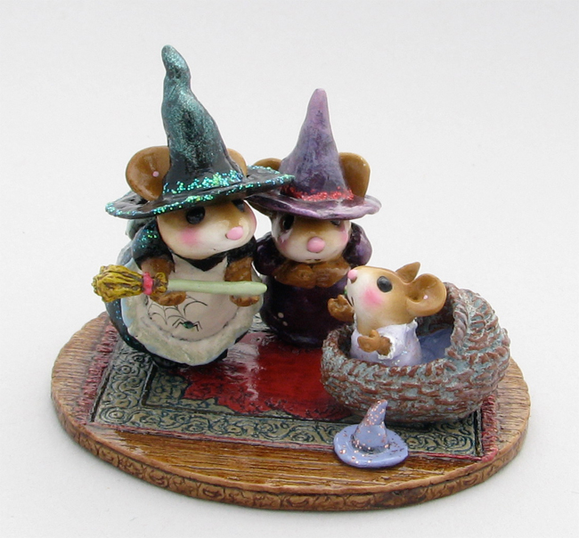 M-373b Baby Witch's First Broom