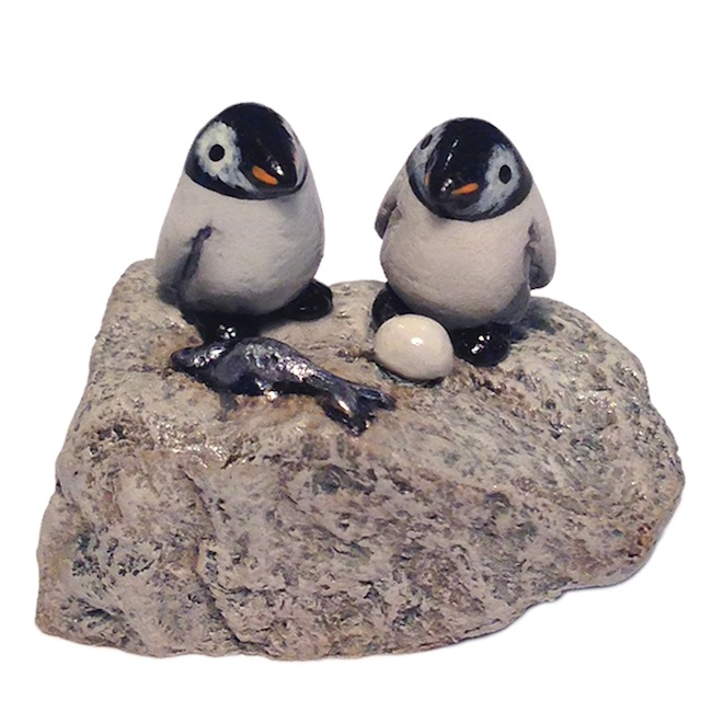 M-412vPEN Penguin Couple