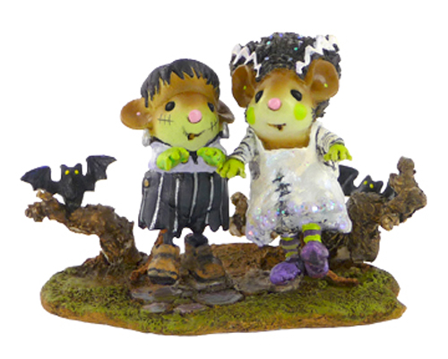 M-416a Bride & Groom Frankenmousters
