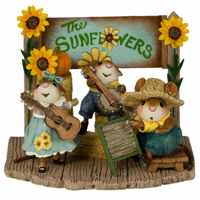 M-438a The Swinging Sunflowers
