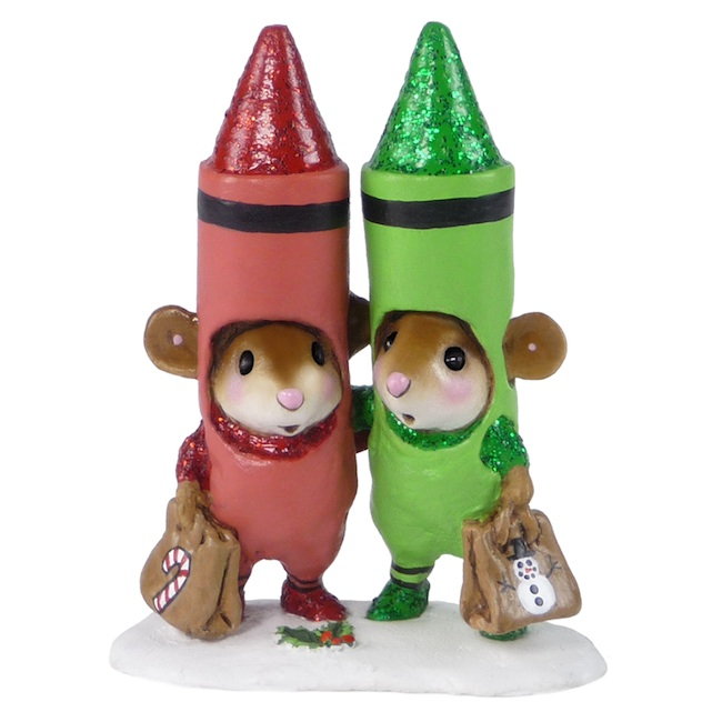 M-533a Christmas Crayons