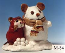 M-084 Snowmouse & Friend
