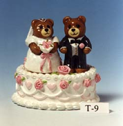 T-09 Wedding Bears