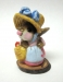 M-002a Miss Mouse with Straw Hat