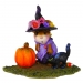 M-407a Witchy Hat...Scary Cat